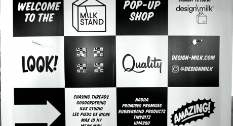 Our Milk Stand Pop-Up Shop at the London Design Fair