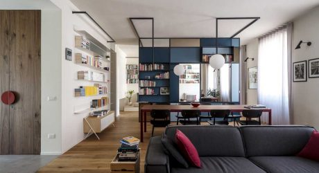 A Modern Torino Apartment Renovated for a Writer
