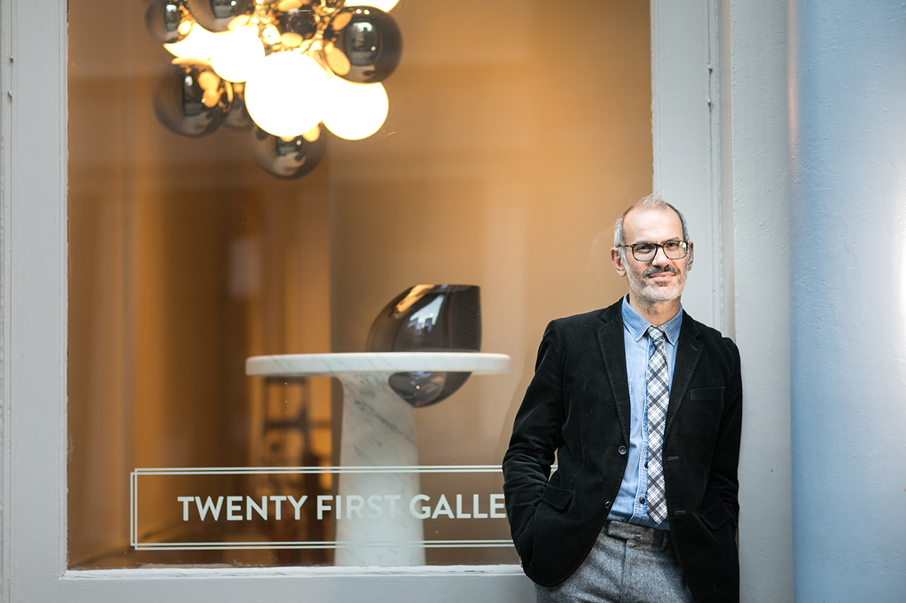 Friday Five with Renaud Vuaillat of Twenty First Gallery