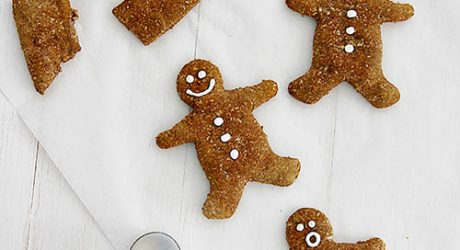 Dog-I-Y: Gingerbread Men from <i>52 Weeks of Treats</i> by Serena Faber Nelson with Sarah Dickerson