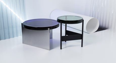 The Cast Glass Alwa Table Collection by Pulpo