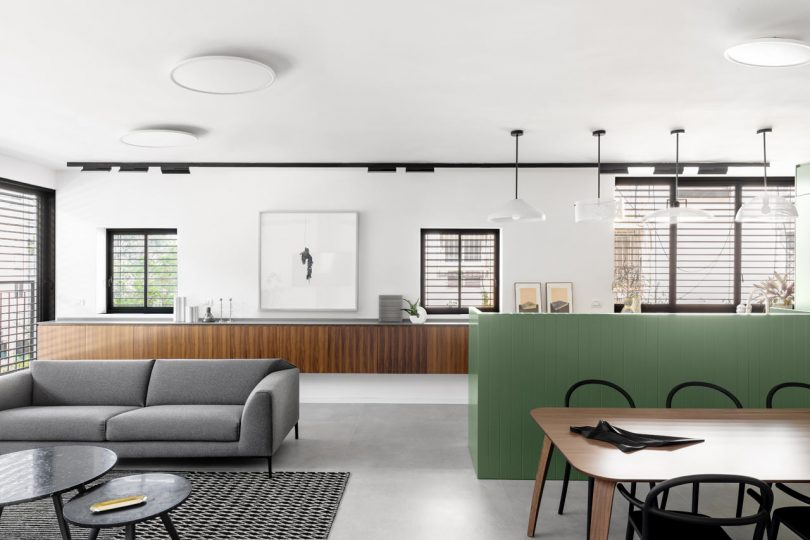 BZ Apartment Is a Tel Aviv Getaway for a Family on the Weekends