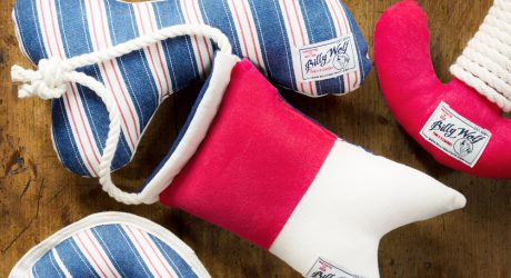 Canvas and Cotton Toys from Billy Wolf