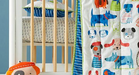 Canine Collective Toddler Bedding Set from Anthropologie