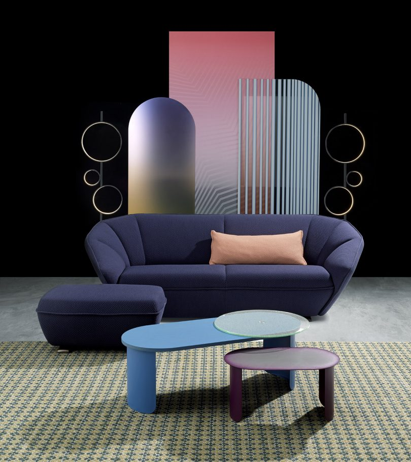 The Colla Sofa Collection Is Contemporary at Its Best