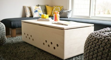 DOG-I-Y: A Modern Dog Crate Coffee Table