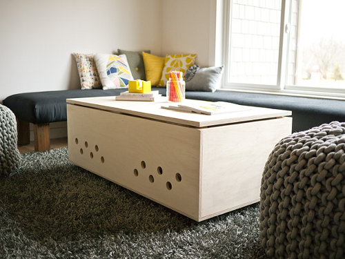 Dog I Y A Modern Dog Crate Coffee Table Design Milk