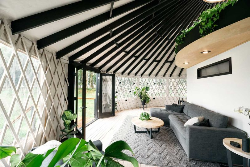 Do It Yurtself: A Modern Yurt You Can Build Yourself