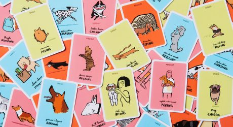 Dodgy Dogs Card Game Illustrated by Jean Jullien