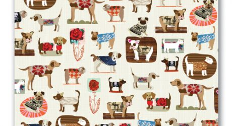 Dogs in Sweaters Stationery and Gift Wrap by Ecojot