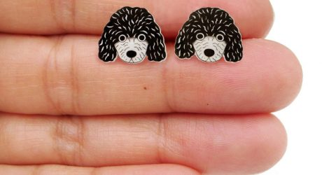 Dog Earrings, Pins, and Necklaces from Doodleworm
