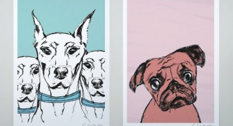 Dog Illustrations by Evie Kemp
