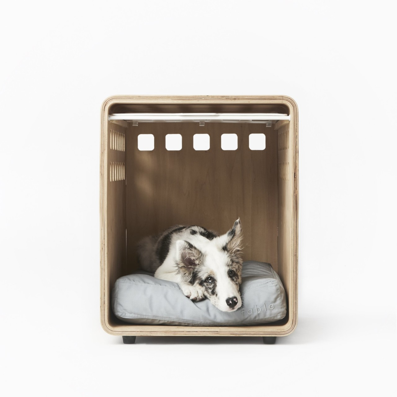 Bentwood Dog Crate From Fable