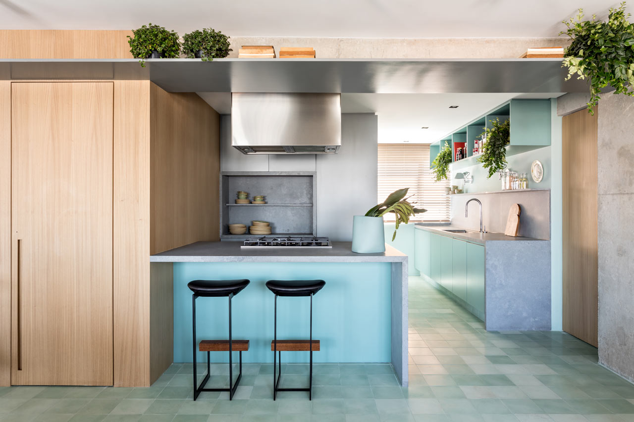 Nildo José Designs a Modern Business Apartment in São Paulo