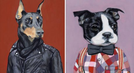 Dogs in Clothes by Heather Mattoon