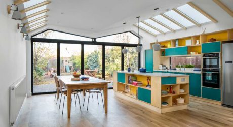 Iguana Architects Reimagines a London Home with a Green Roof