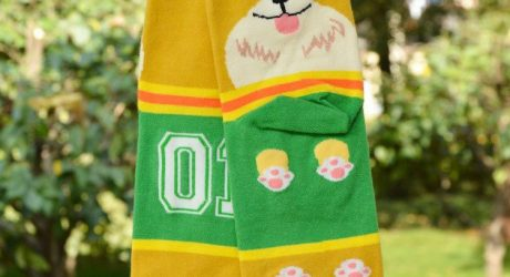 Jersey Dog Socks from Cute Dose