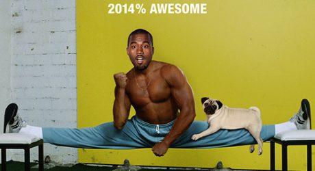 Kanye West 2014 Pug Calendar