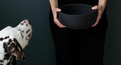 Modern Ceramic Dog Bowls from KIND