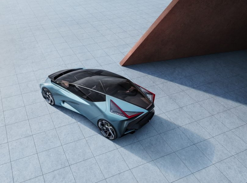 The Lexus LF-30 Electrified Concept Comes Equipped With Its Own Drone