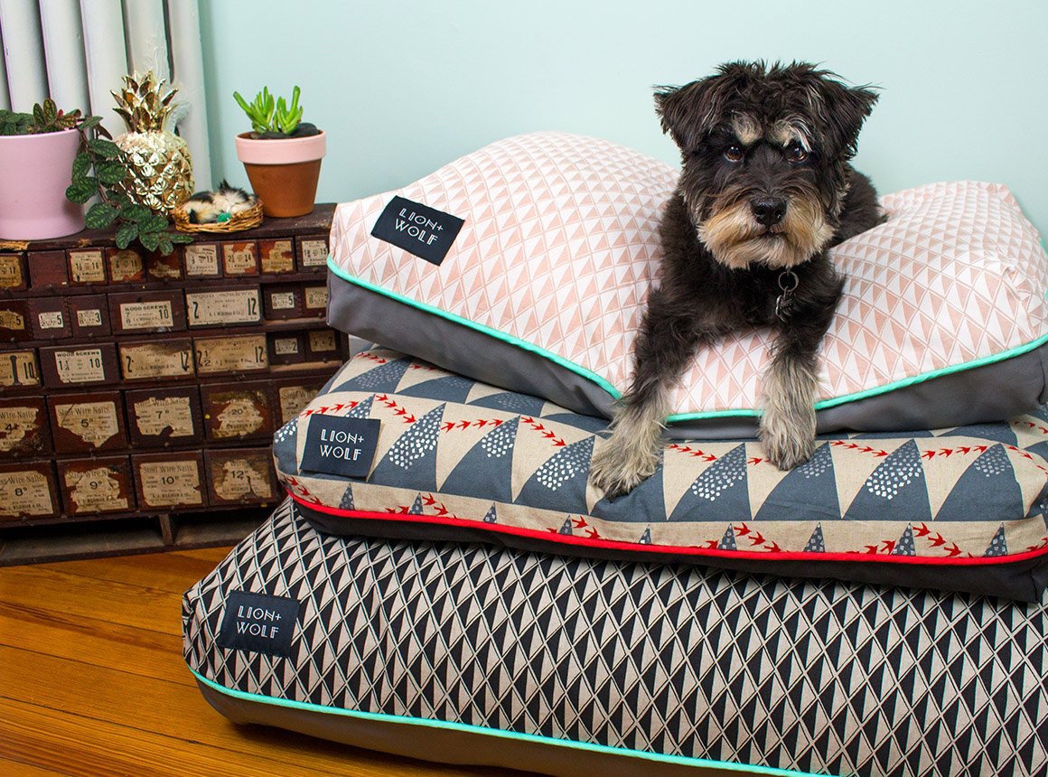 New Limited Edition Dog Beds from Lion + Wolf