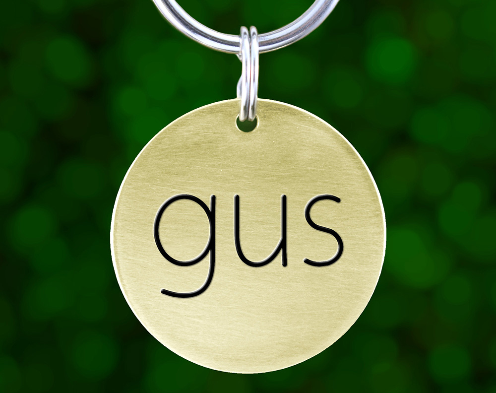 Modern Custom Dog Tags from Lovely Pup Tags