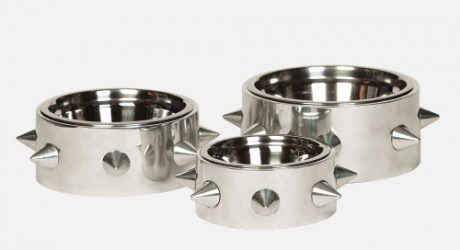 Spiked Dog Bowls from Unleashed Life