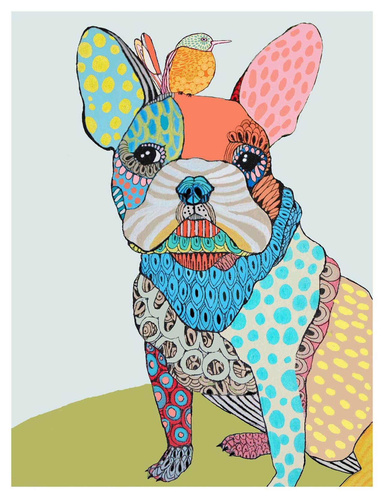 Whimsical Pet Portraits by Matea Sinkovec