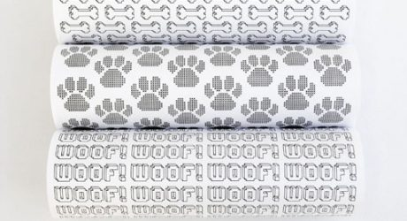 Free Printables: Modern Dog-Themed Gift Wrap
