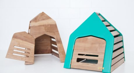 <i>For Gimli</i>: Modern Dog Dens and Feeders by Gamla Studio