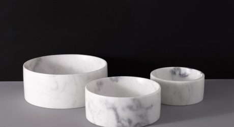 Luxury Marble Water Bowls from Mr. Dog New York