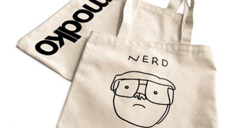 Nerd Dog Tote Bag from Modko