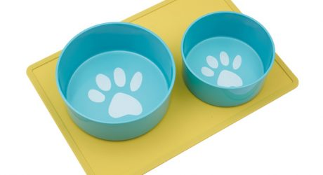 """Pop!"" Dog Bowls and Silicone Mats from Oré Pet"