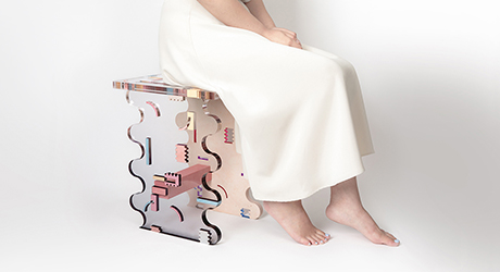 HATTERN and LAB.CRETE Create Furniture with Strength