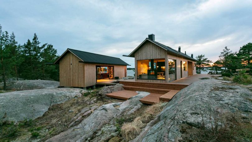 Project Ö Is a Self-Sustaining Cabin in the Finnish Archipelago