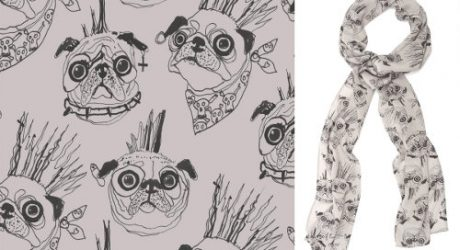 Pug Scarves by Age of Reason