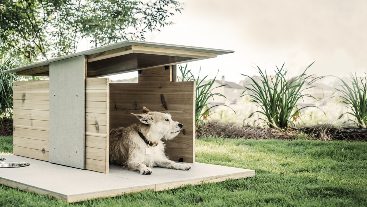 Puphaus A Modern Dog House From Pyramd Design Co