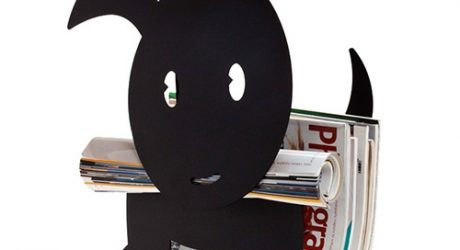 Ringo the Dog-Shaped Magazine Holder by Artori Design