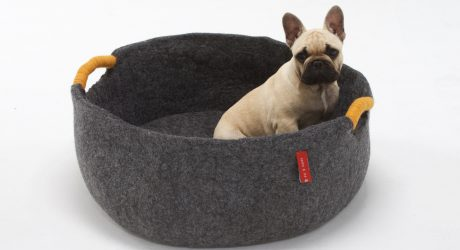 Felt Dog Beds and Toys from Sasha & Me