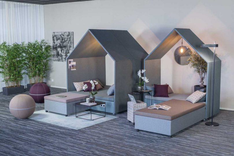 Scandinavian Spaces Reimagines the Workplace with The Hut Lounge Collection