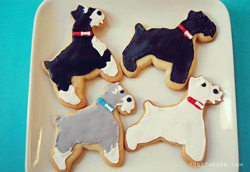 Dog-I-Y: Homemade Schnauzer Sugar Cookies