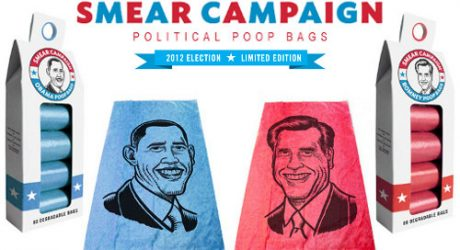 Smear Campaign: Political Poop Bags from MetroPaws