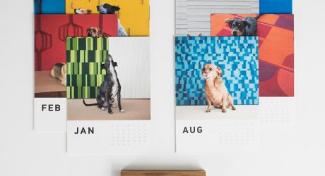 2018 Subwoofers Dog Calendar from Submaterial