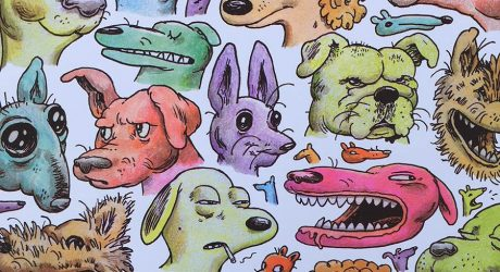 Dog Illustrations by Travis Millard