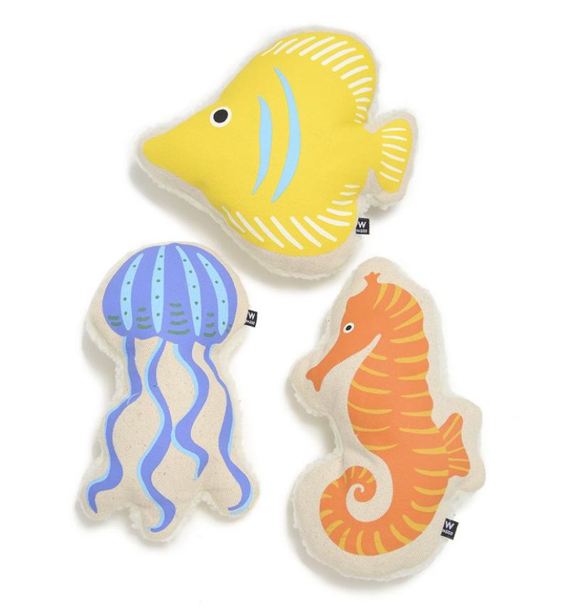 New Sea Life Squeaky Toys from Waggo