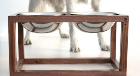 Modern Dog Feeders by Wake the Tree