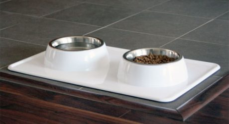 Dog Bowl Tray from A La Mode Dog