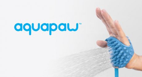 Aquapaw: A Bathing Glove and Water Sprayer in One