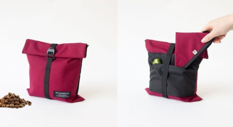 Baja Kibble Travel Bag from Wildebeest