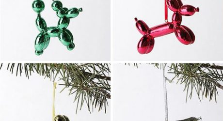 Balloon Animal Christmas Ornaments